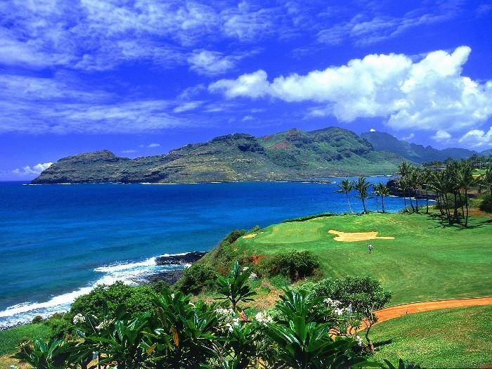 ハワイでの