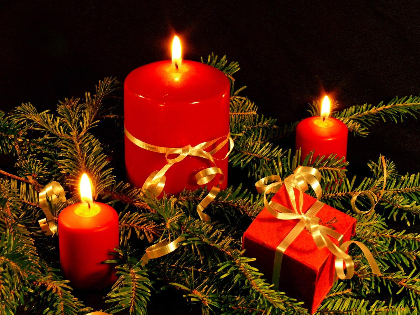 祝日壁紙 無料ダウンロード クリスマスツリーとプレゼント